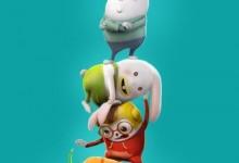 无对白搞笑动画片《三只兔子 Rabbids Leave My Carrot Alone》全26集 720P/MP4/170.4M  动画片三只兔子全集下载-儿童动画网
