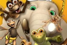 儿童动画片《爆笑丛林 Jungle Beat》第二季全13集 无对白 720P/MP4/618M 动画片爆笑丛林全集下载-儿童动画网