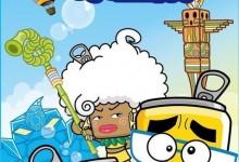 儿童动画片《哈皮父子与水金刚》全26集 720P/MP4/3.36G 动画片哈皮父子全集下载-儿童动画网